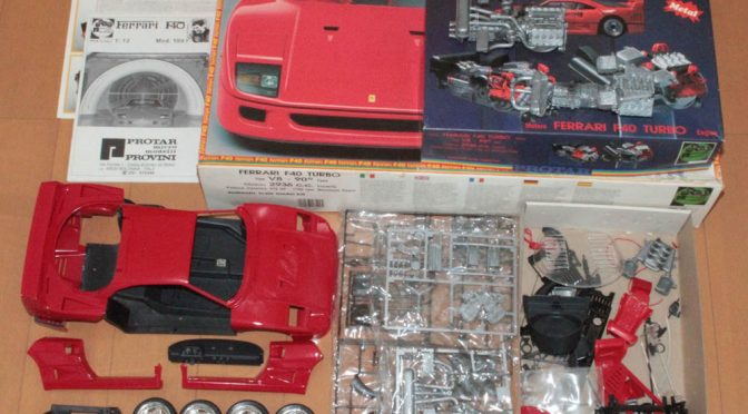 PROTAR by 1/12 Ferrari F40 TURBO 半完成品キット