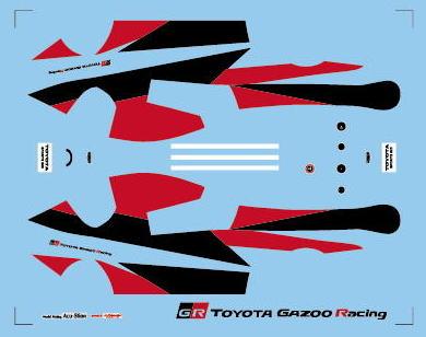 速報!! 1/43 トヨタ スポーツ 800 GR CONCEPT メタルキット
