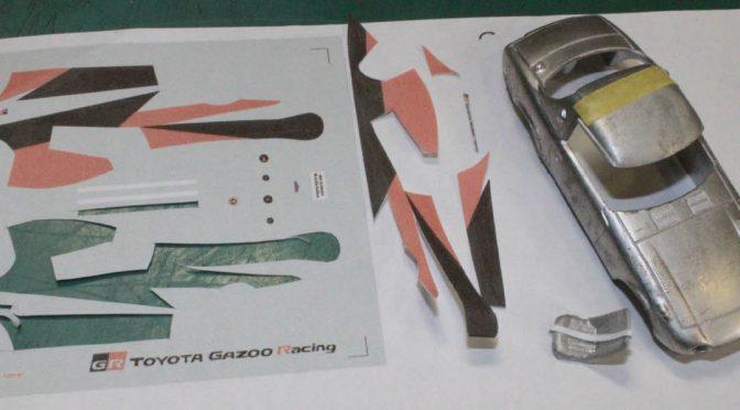 開発中!! 1/43 トヨタ スポーツ 800 GR CONCEPT メタルキット