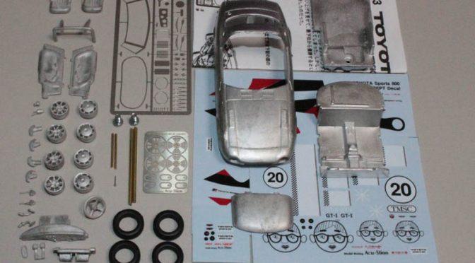 1/43 トヨタ スポーツ 800 GR CONCEPT スペシャルメタルキット