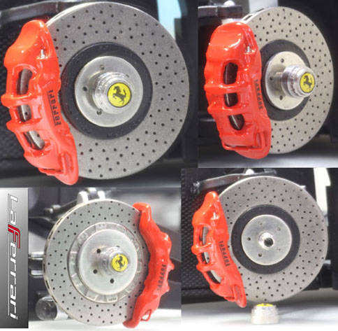 La Ferrari Disk rotor Set.4point