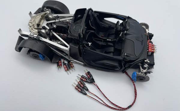 Making of 1/24 McLaren Senna No.76