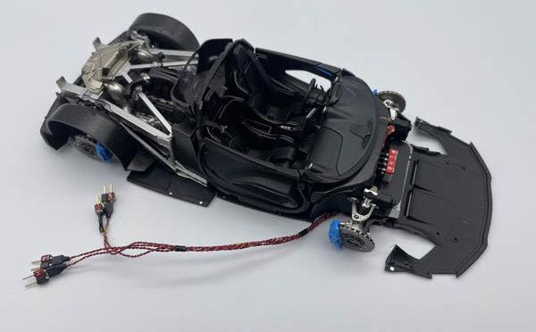 Making of 1/24 McLaren Senna No.77