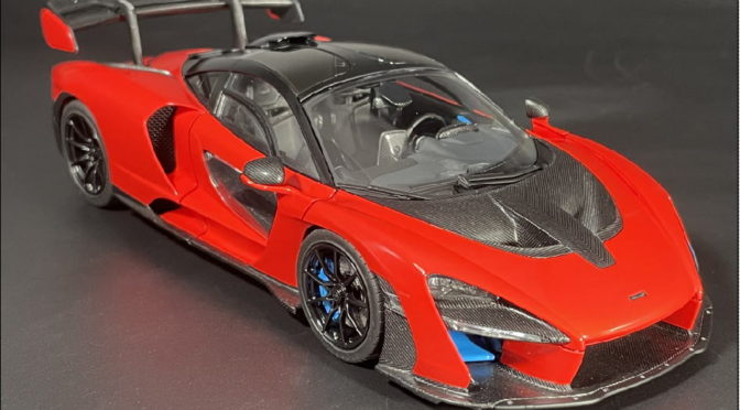 Making of 1/24 McLaren Senna No.82
